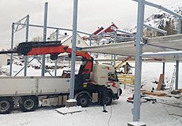 ABG Ehitusgrupp veok Norras ehitusel